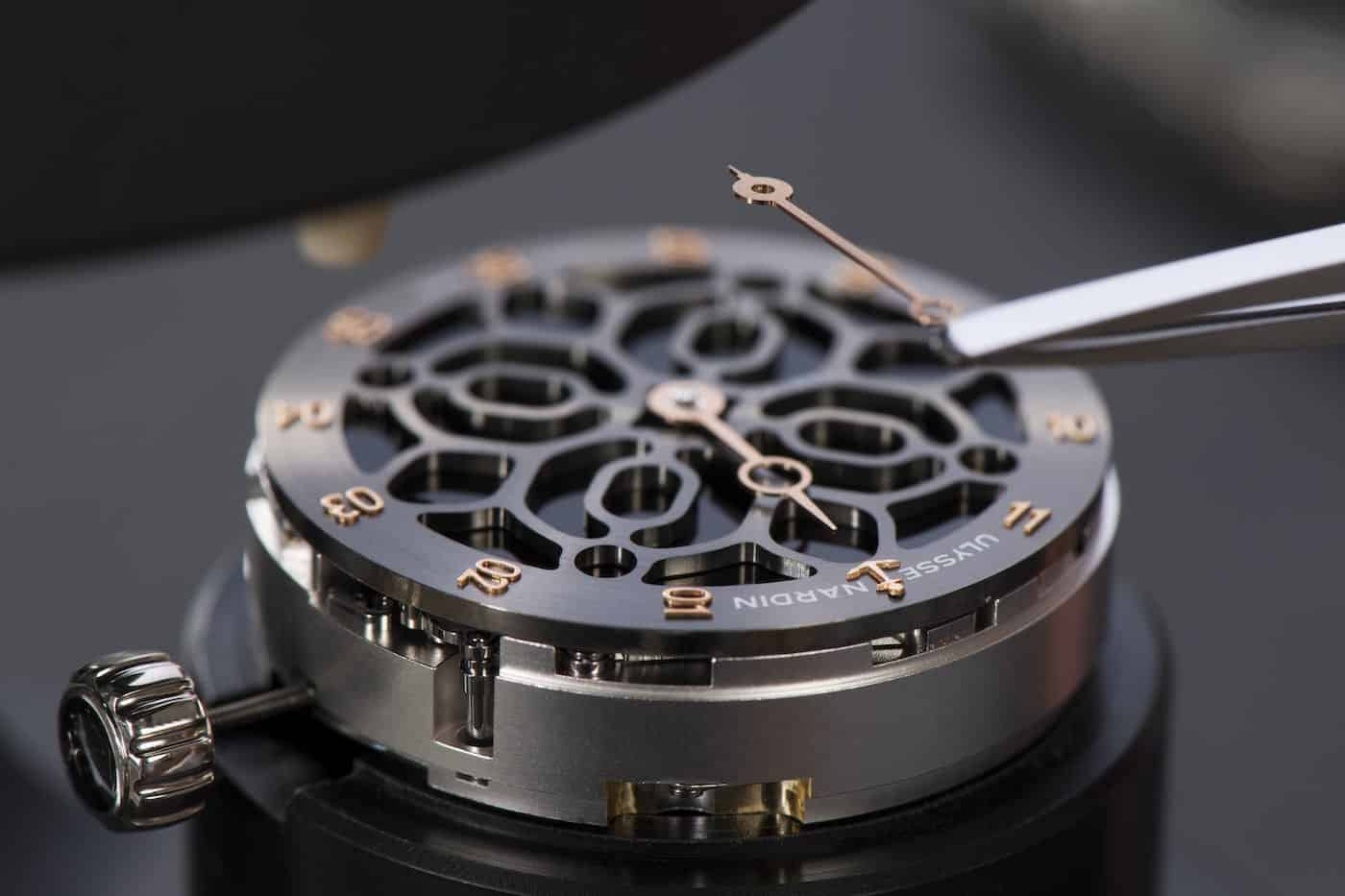 Ulysse Nardin Hourstriker Phantom Limited Edition Watch Devialet 6