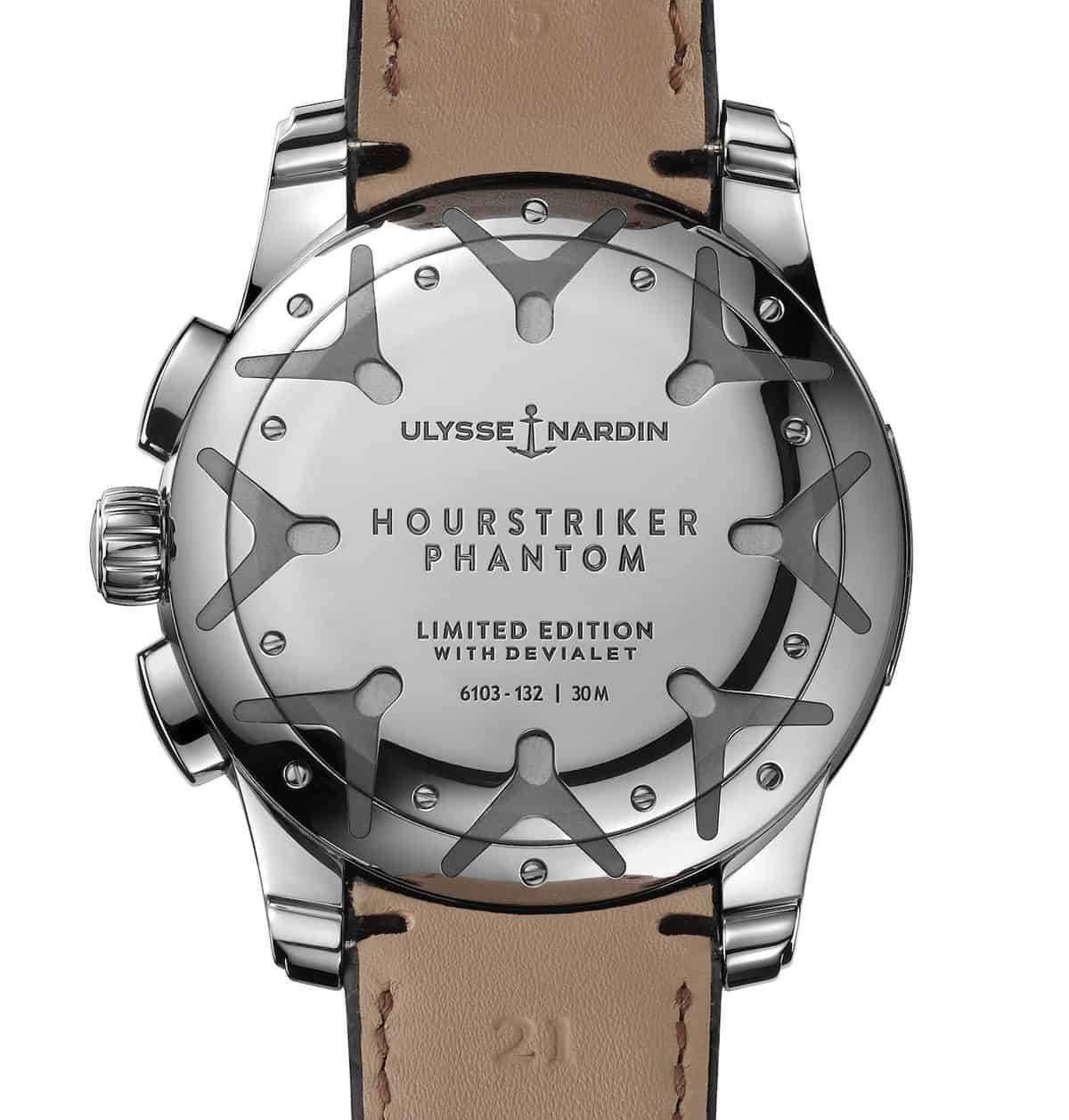 Ulysse Nardin Hourstriker Phantom Limited Edition Watch Devialet 8