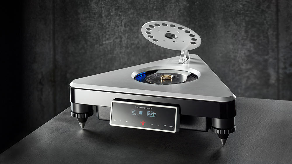 CD Players aren't dead yet: meet the State-of-the-Art Gryphon Ethos CD Player
