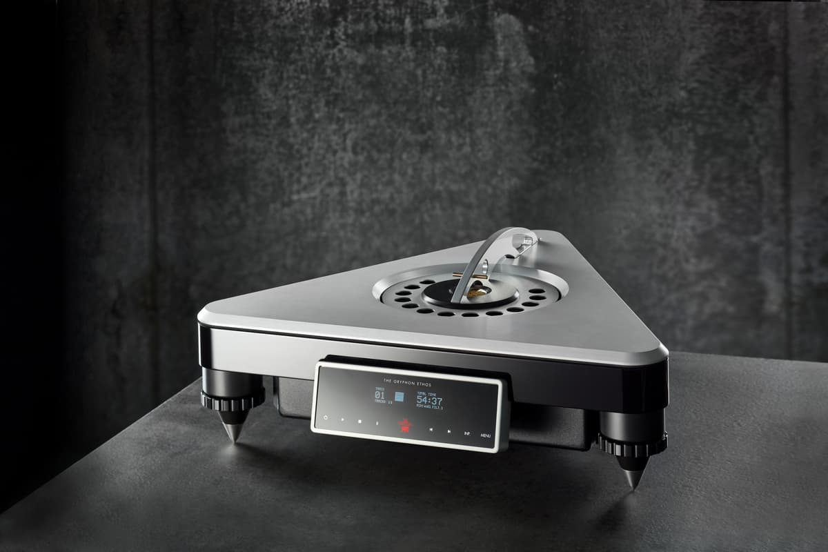 gryphon audio designs new cd player ethos 3