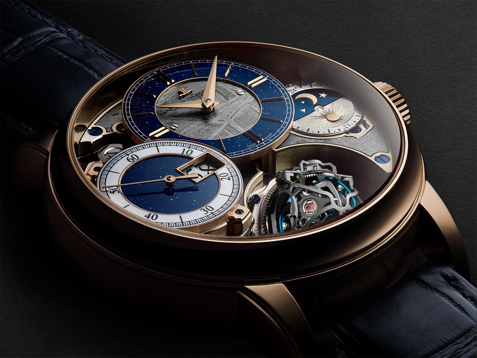Jaeger-LeCoultre's Gyrotourbillon 3 Meteorite Will Charm You in Seconds