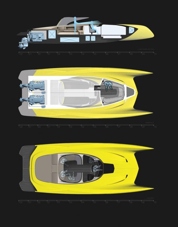 salome yachts atlantis tender 6