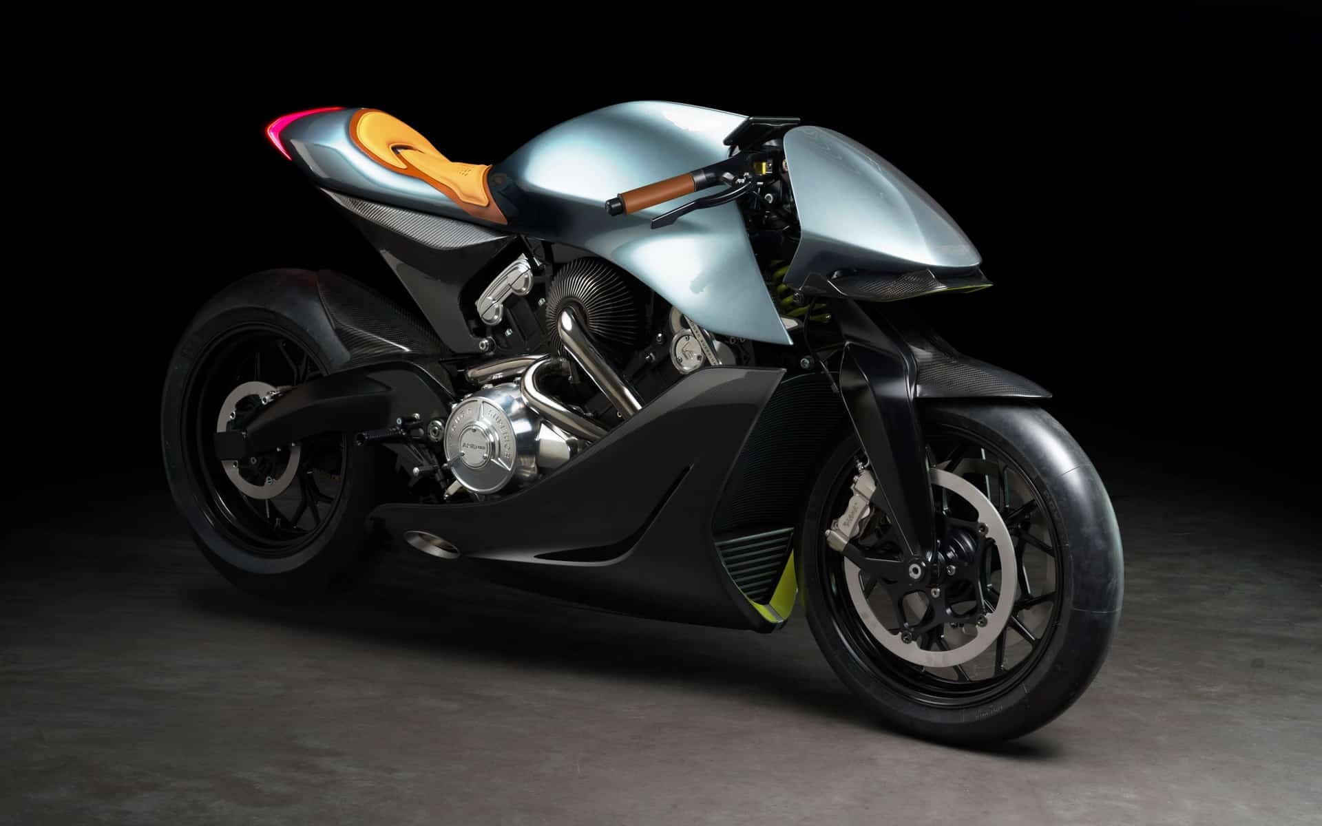 Aston Martin's First Motorcycle is a 10/10 Knockout!