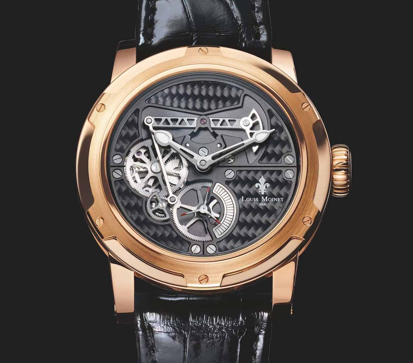 Louis Moinet Derrick Watch 1