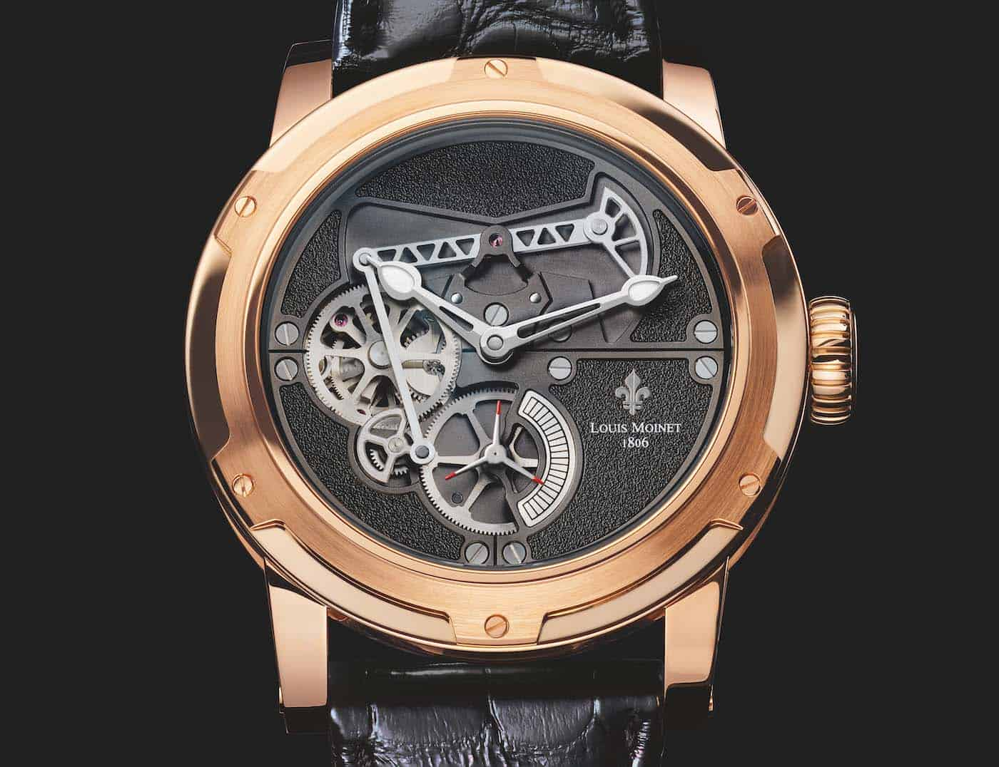 Louis Moinet Derrick Watch 2