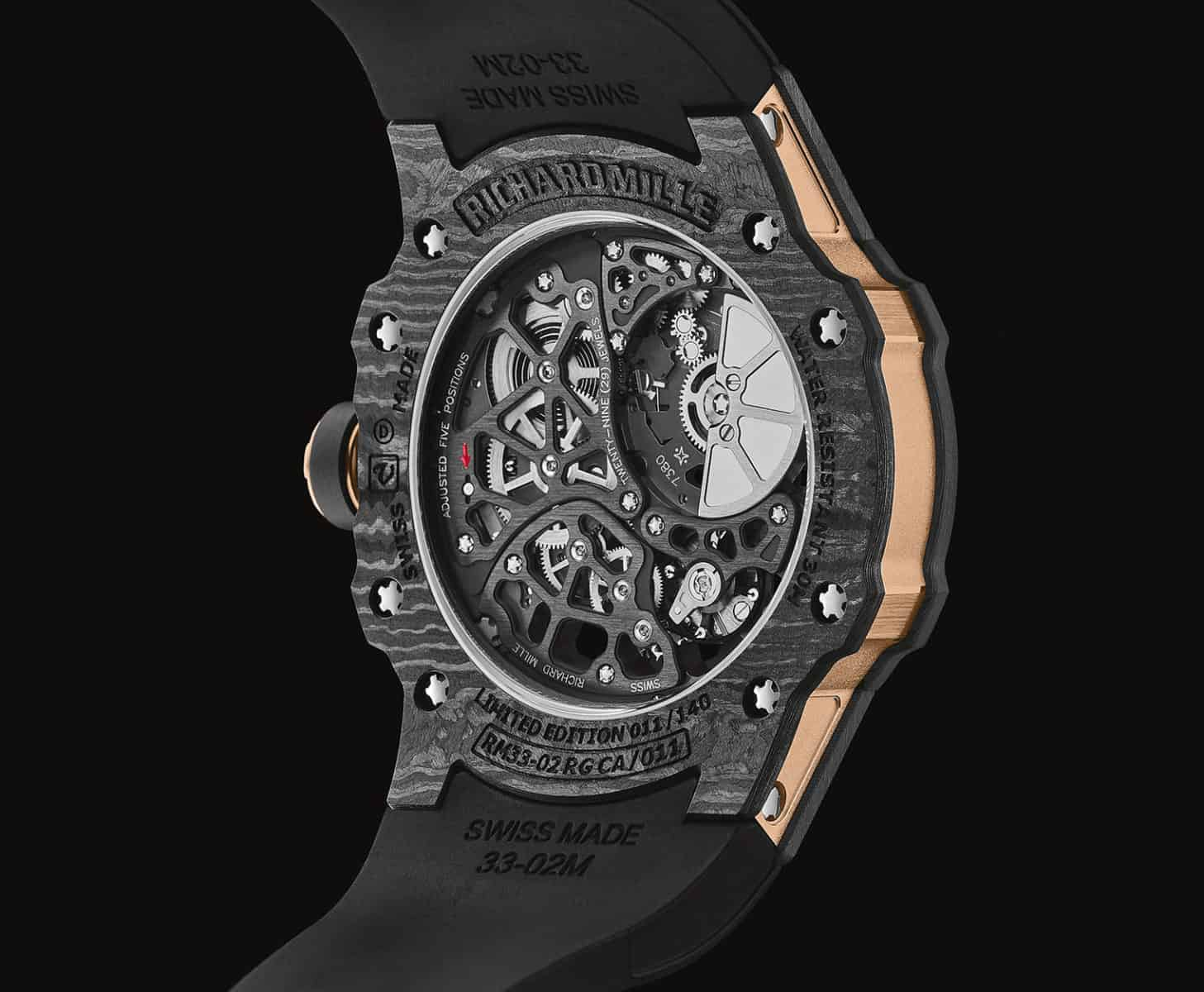 Carbon Goodness: Richard Mille's new RM 33-02 Automatic