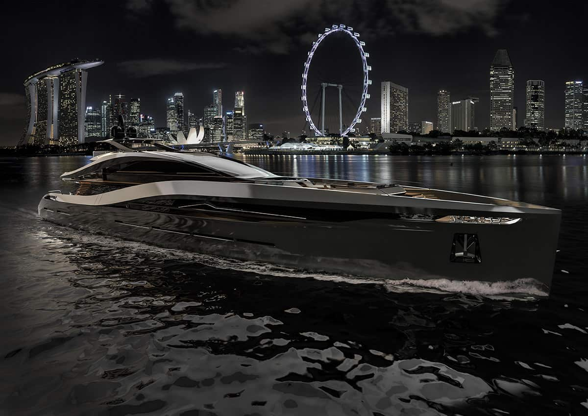 Rossinavi & Pininfarina Team Up for the Incredible Super Sport 65 Yacht