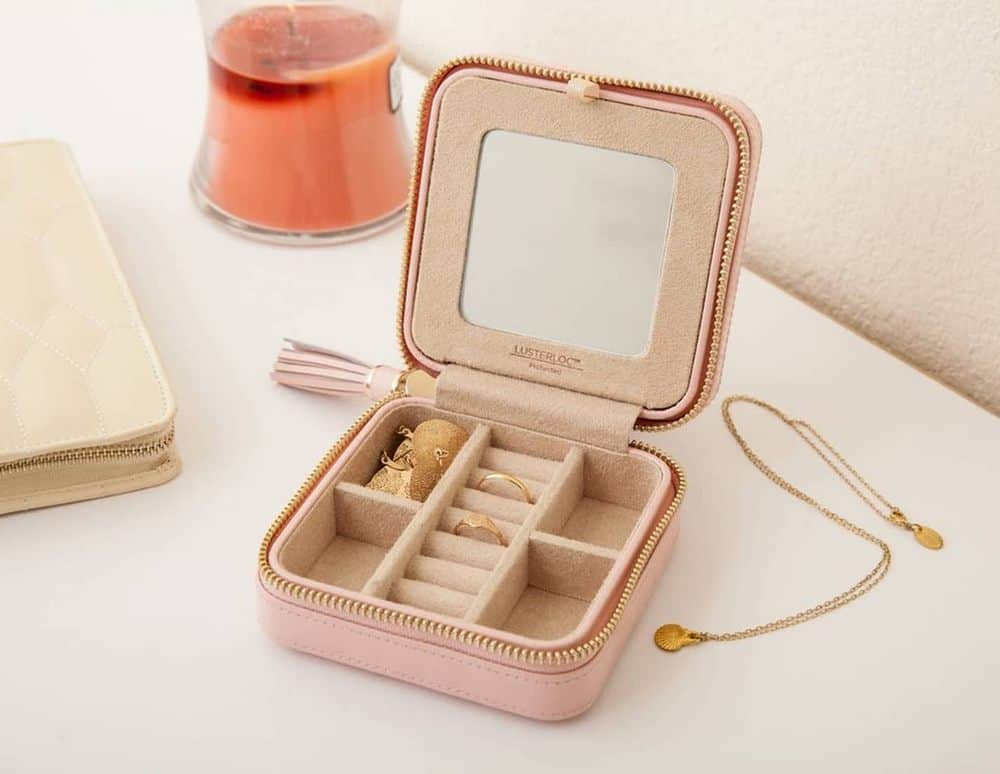 Wolf Caroline Travel Jewelry Case