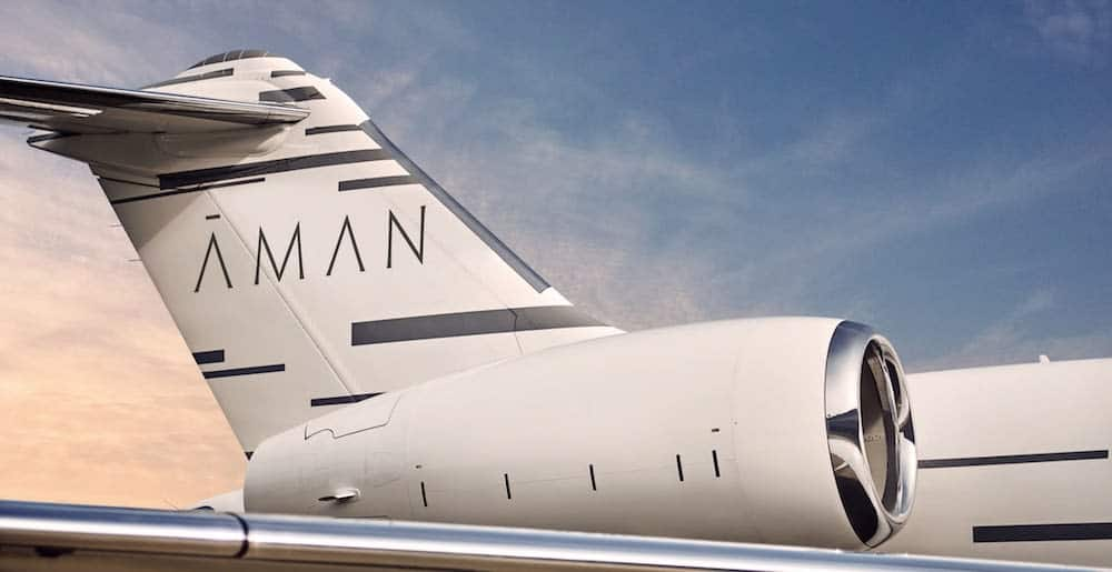 Aman Private Jet 2