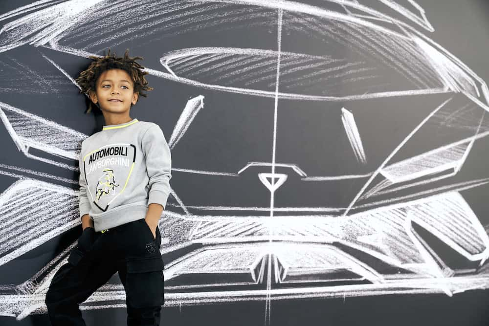 Guess what? Lamborghini Unveiled its First Kidswear Collection