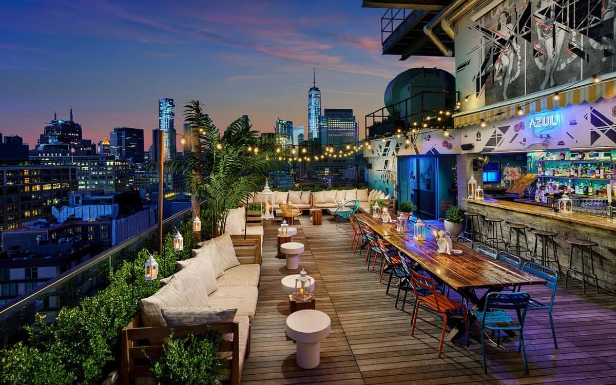 Azul on the Rooftop NYC