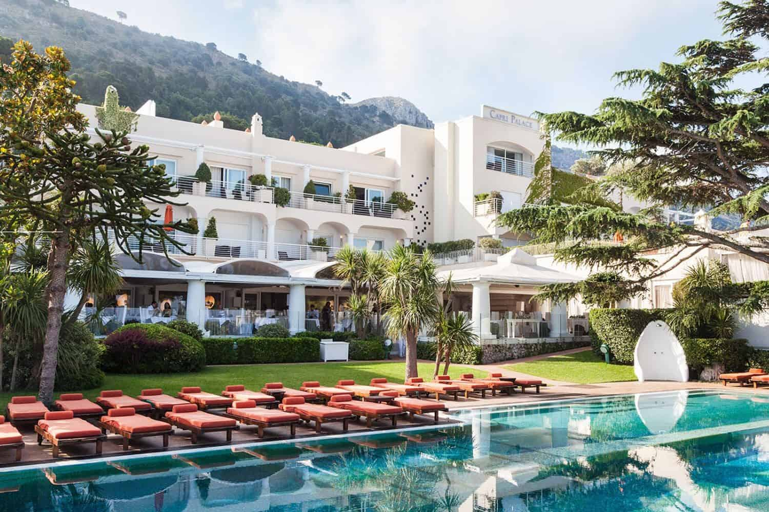 Jumeirah Group adds the Iconic Capri Palace to its Impressive Portfolio