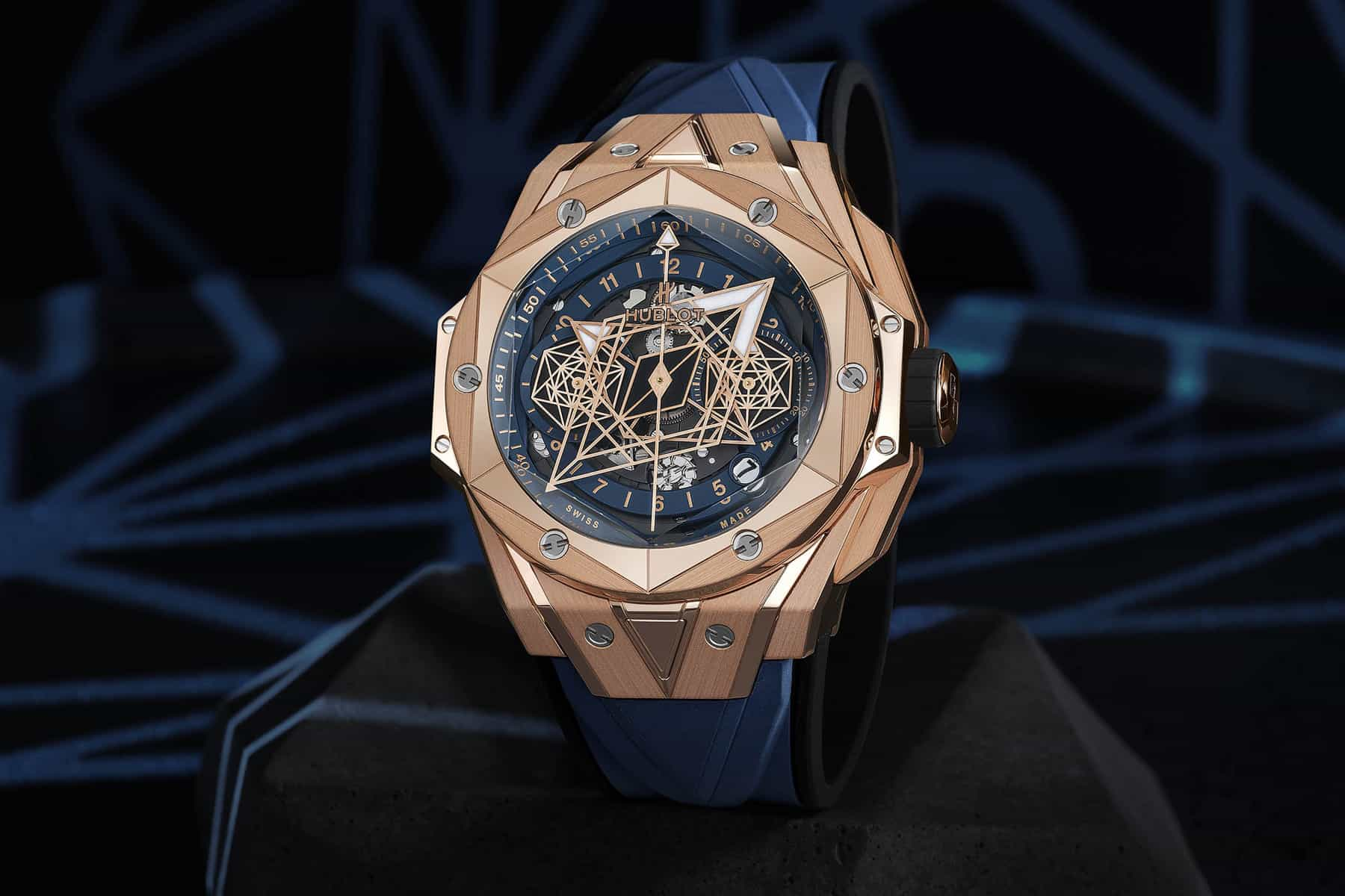 Hublot Big Bang Sang Bleu II 2