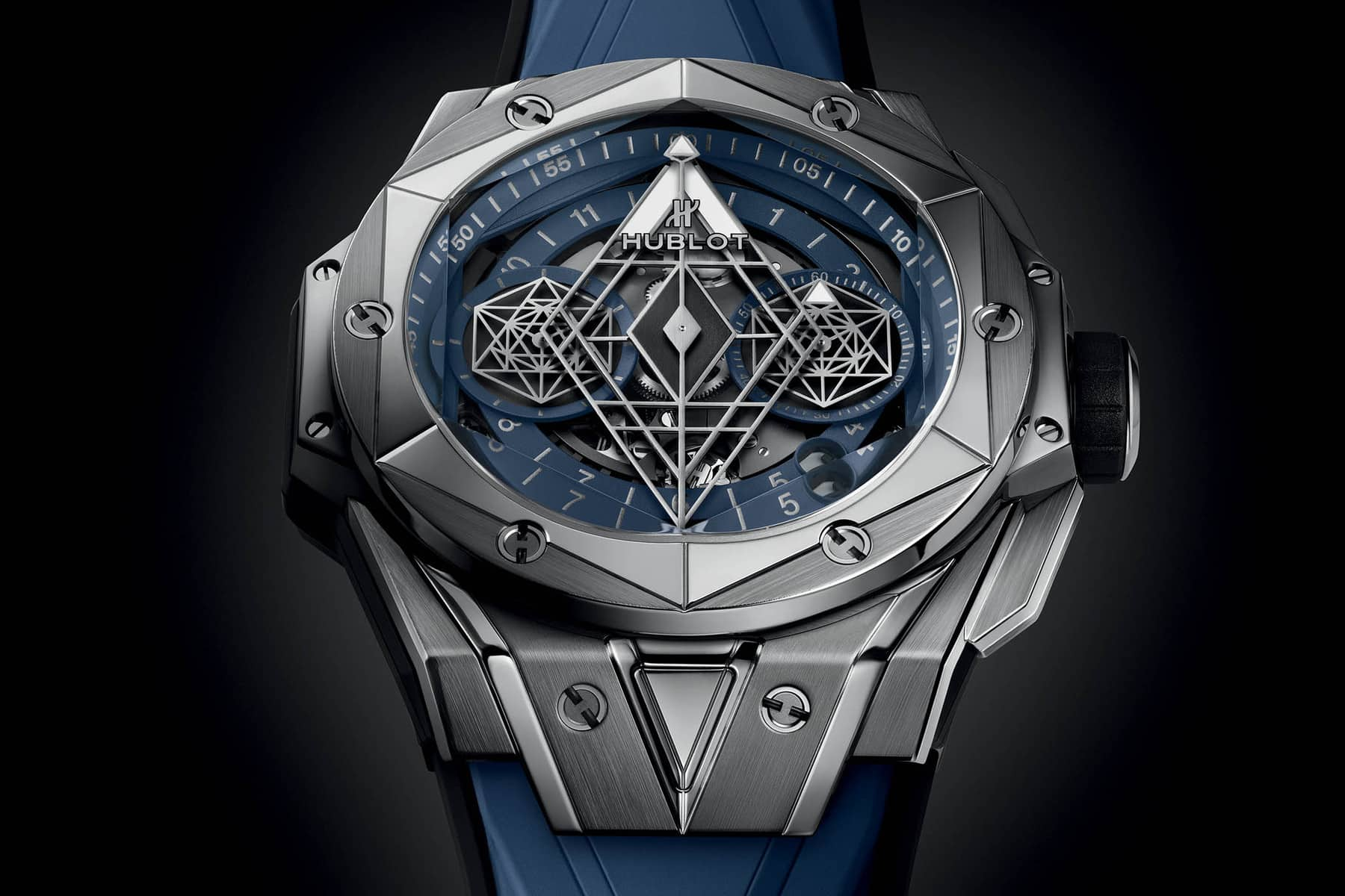 Hublot Big Bang Sang Bleu II 3