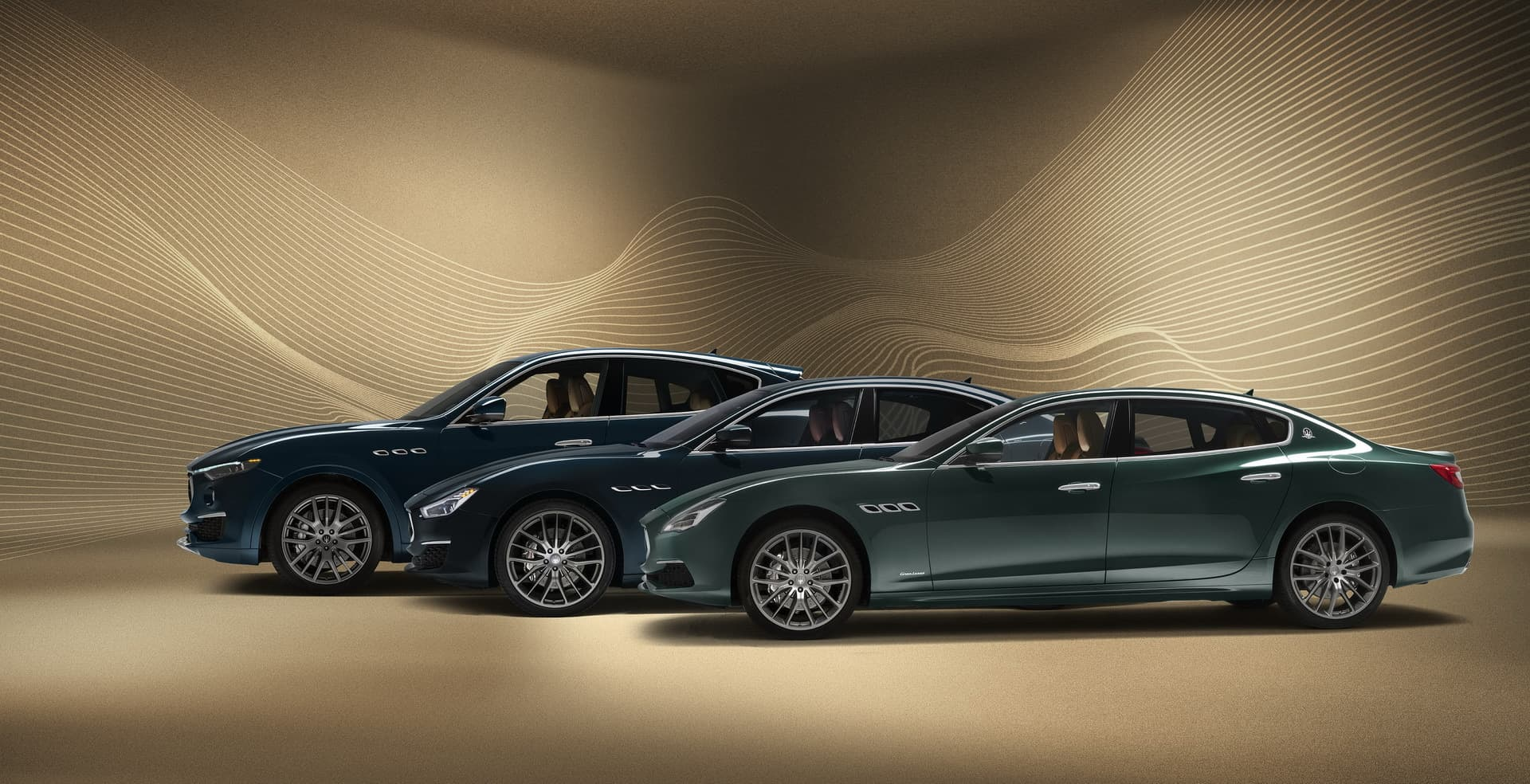 "Maserati Adds the ""Royale"" Touch to the Quattroporte, Levante And Ghibli"