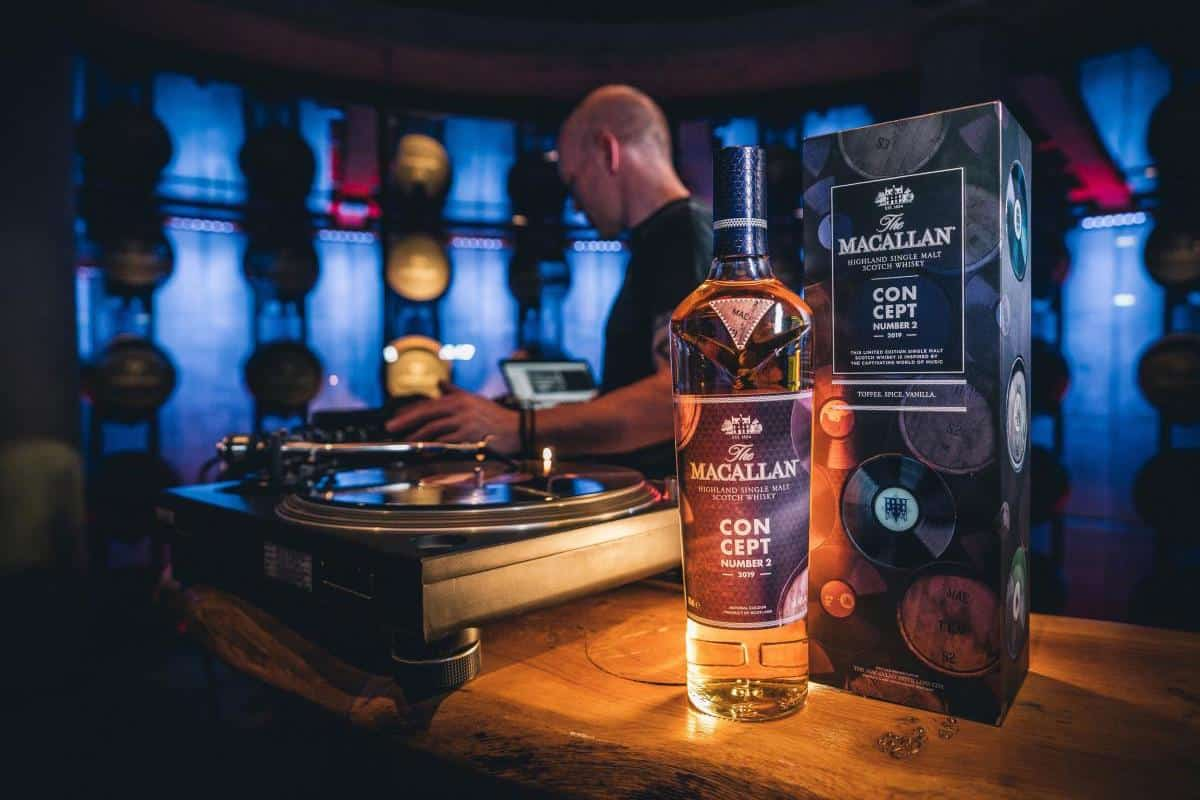 The Macallan Concept Number 2 Celebrates the Harmony of Music and Whisky