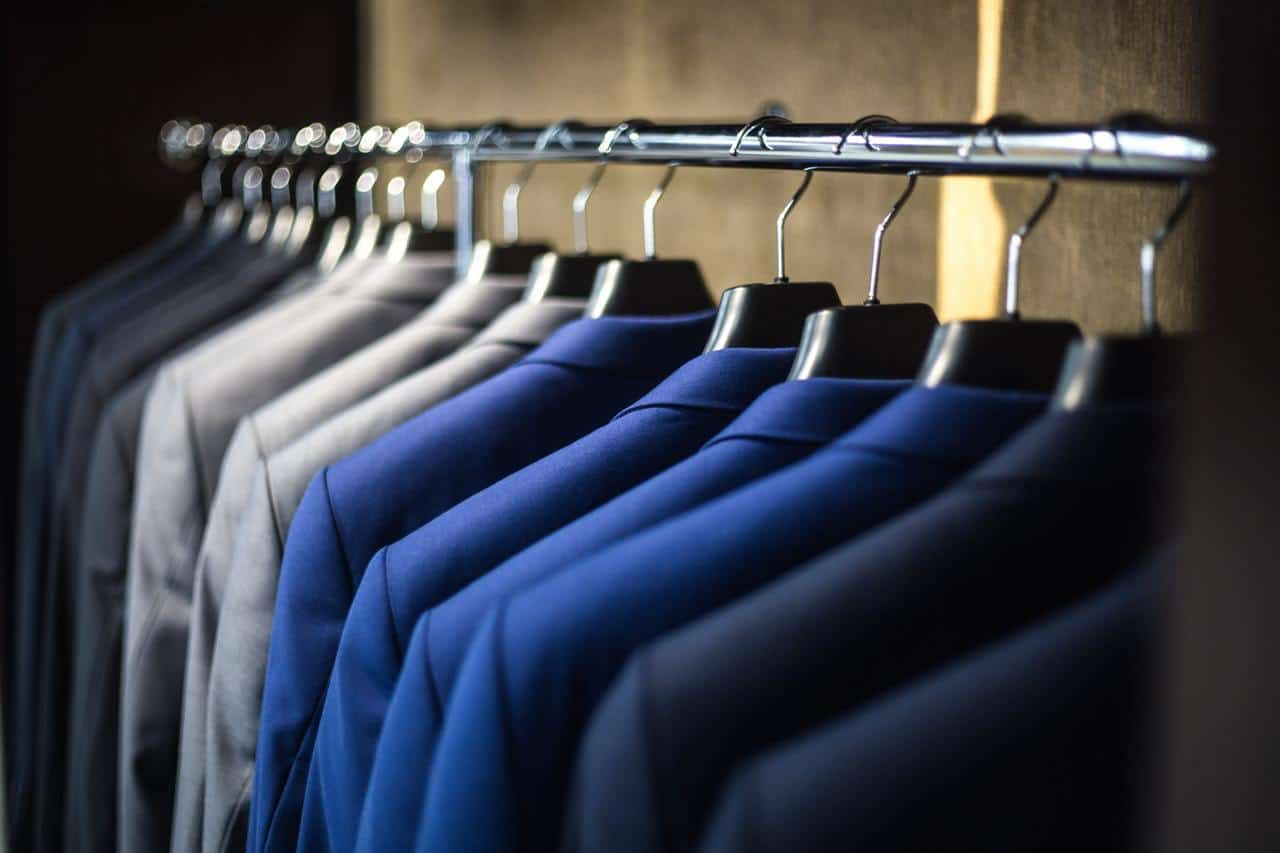 storing your suits