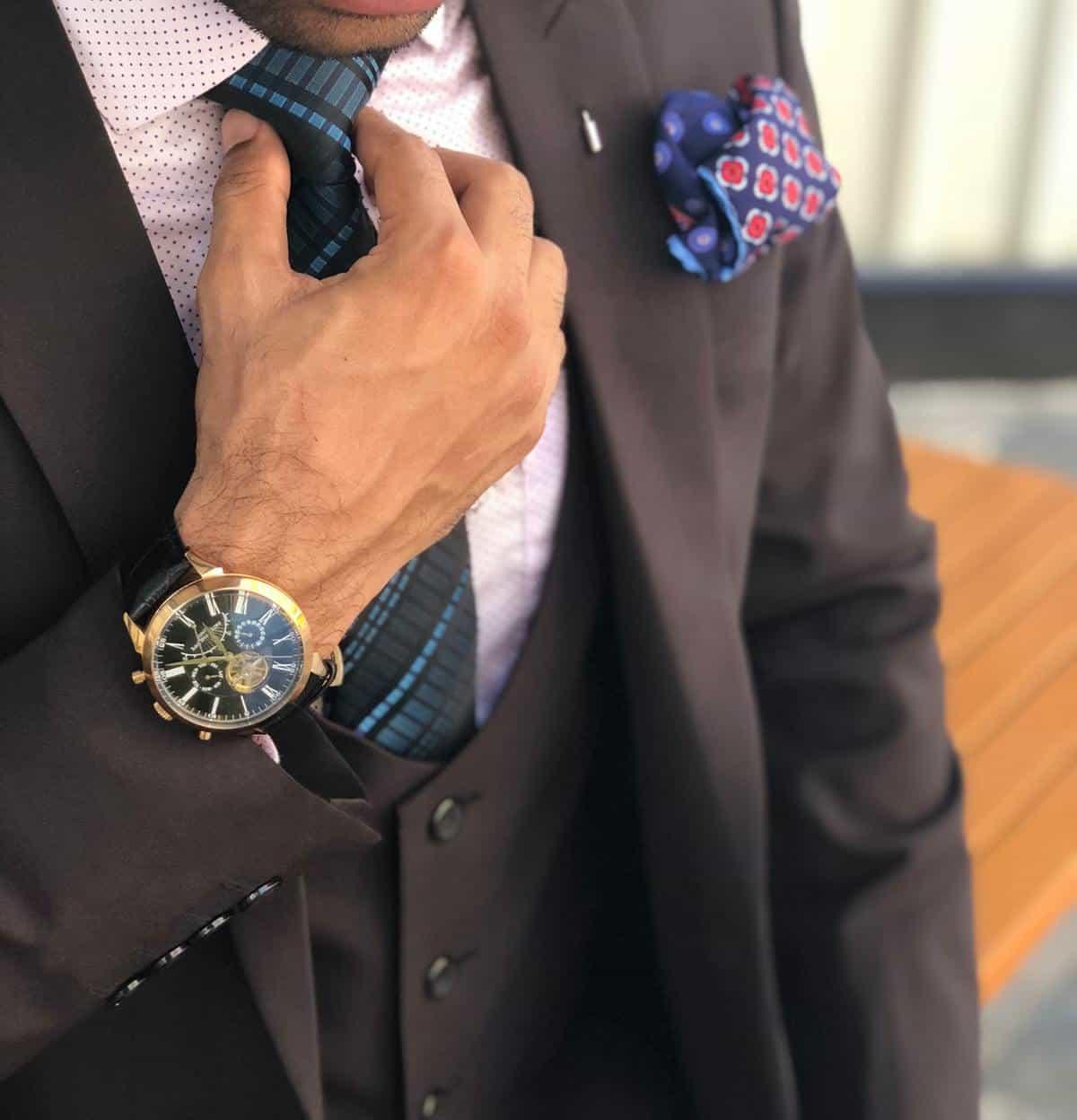 suit necktie