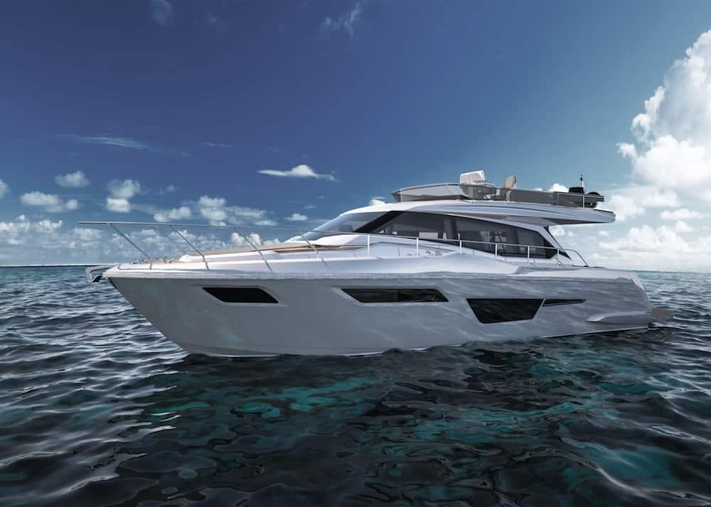"Ferretti Yachts 500 Makes You Feel ""Just Like Home"" at Sea"