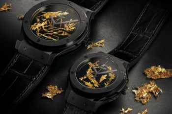 Hublot Classic Fusion Gold Crystal 1
