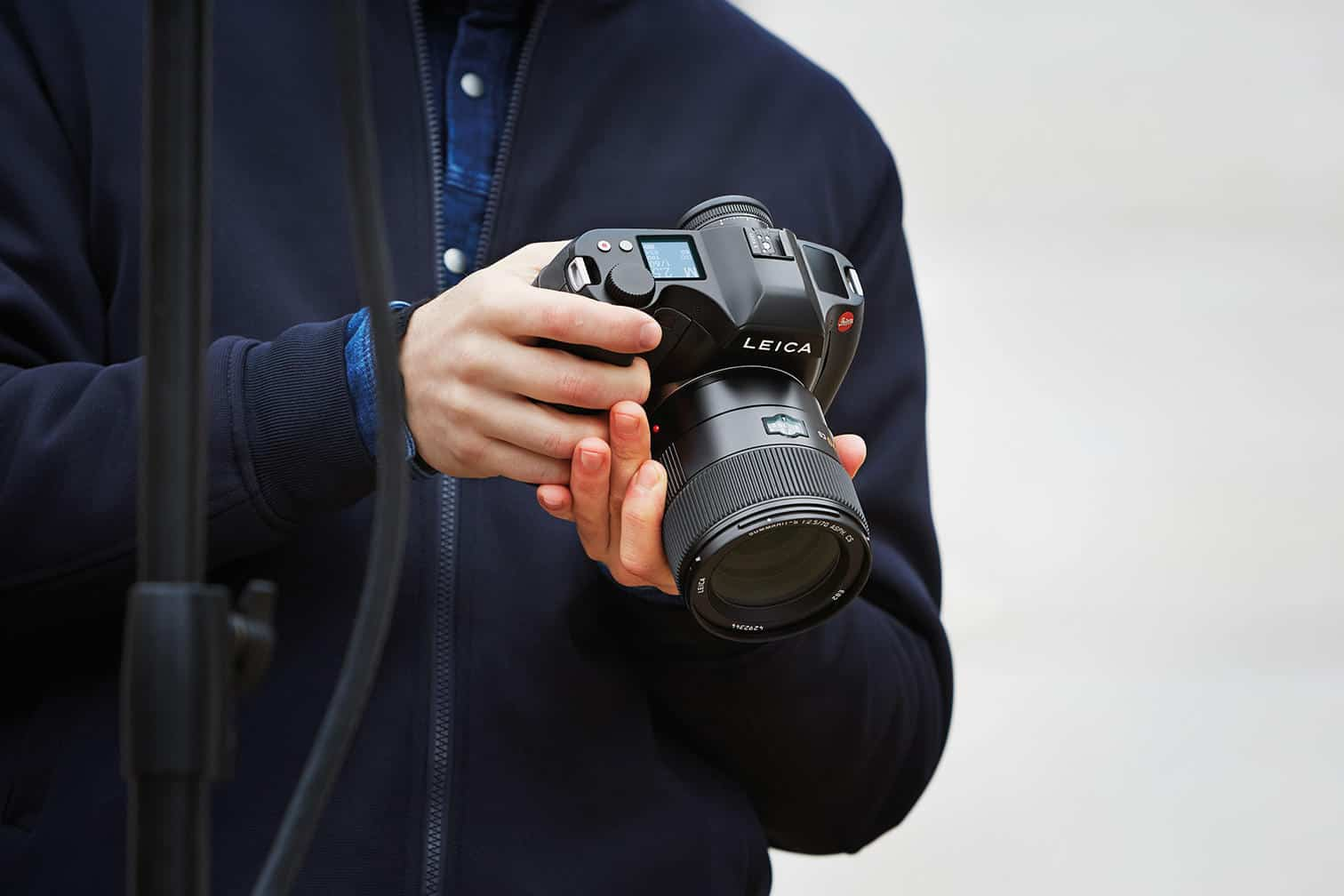 The new Leica S3 Takes Medium Format DSLRs to the Next Level