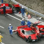 most expensive car crash