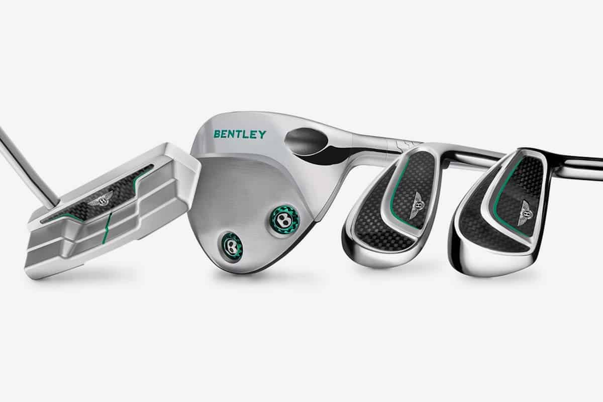 Bentley's New Golf Clubs are Probably Every Golfer's Dream