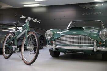 Coleen Aston Martin bike 1
