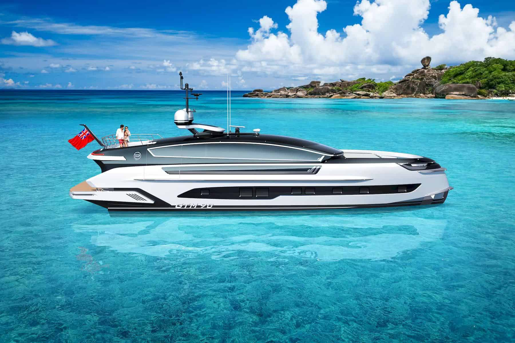 Dynamiq and Klassen Team Up for a Supercar-Inspired Yacht Concept