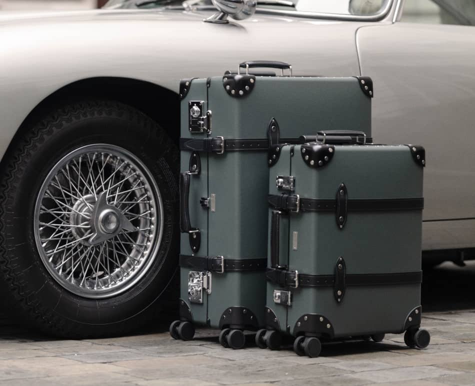Globe-Trotter's No time To Die Luggage Collection is Here