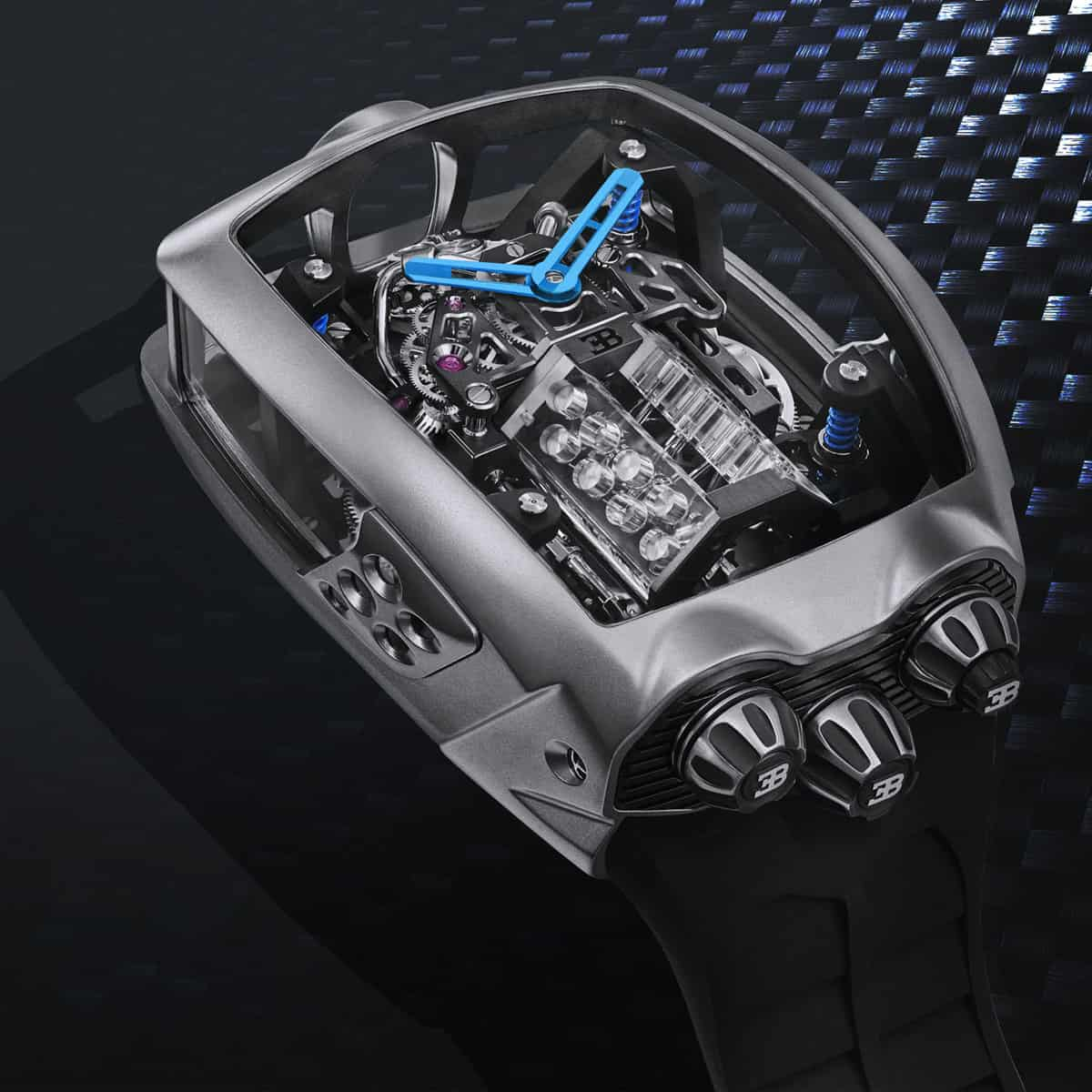 Jacob & Co. Bugatti Chiron Tourbillon 1