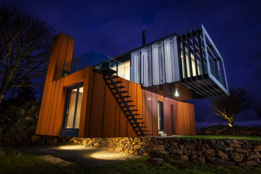 PB Architects container home