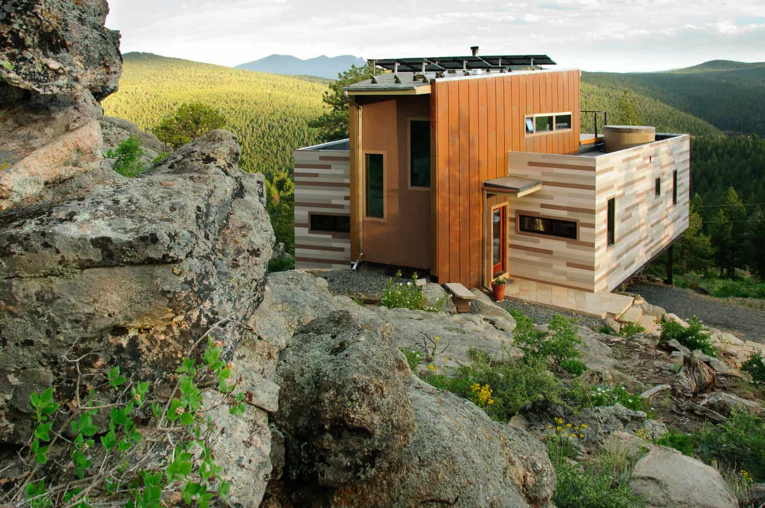 Tomacek Container Home