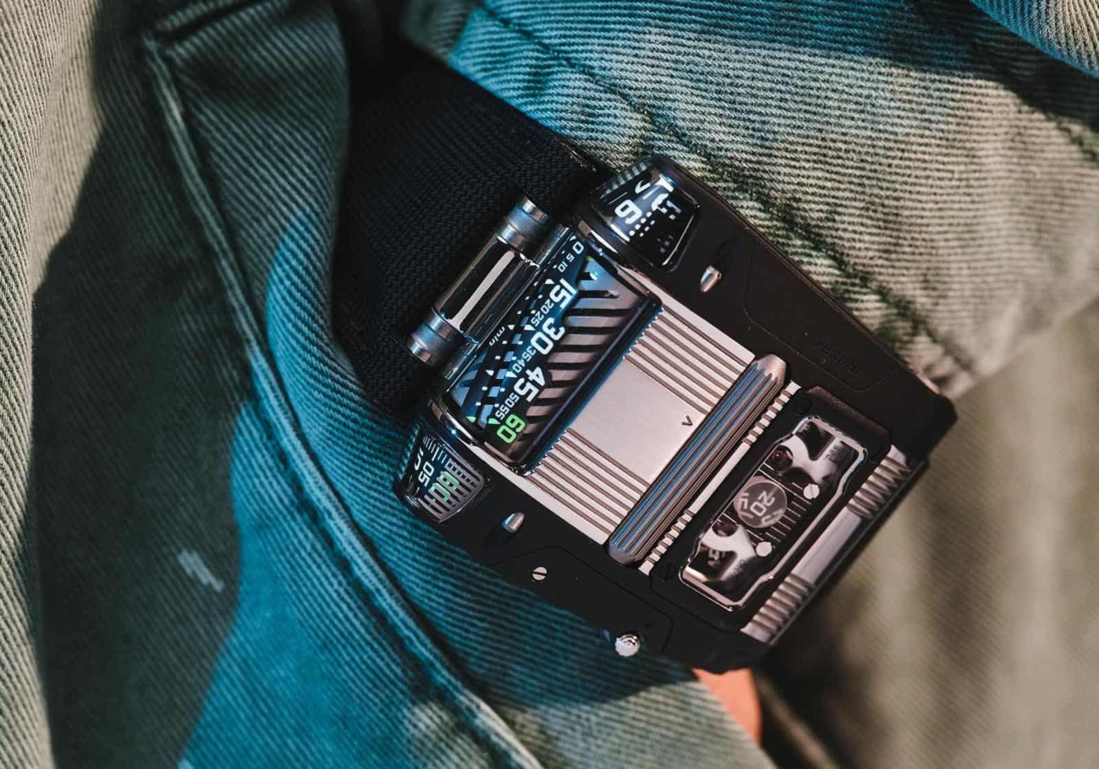 Urwerk Introduced a Two Tone Version of its Spectacular UR-111C
