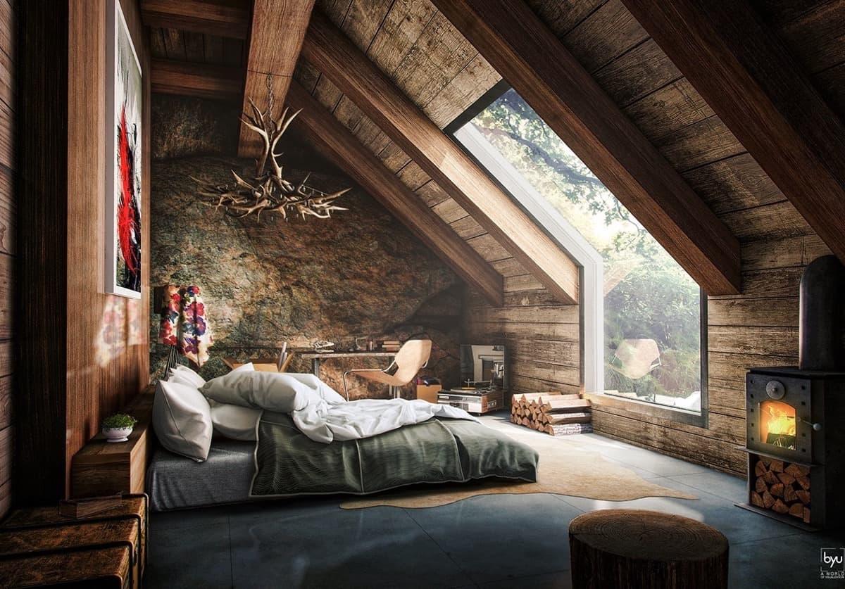 luxury attic