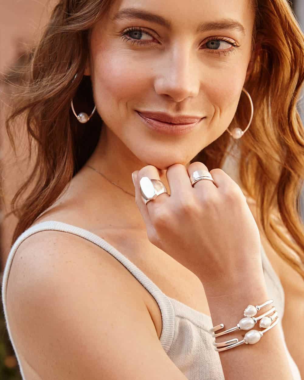 Kendra Scott Pearl Bracelet
