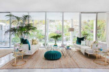 Mid-Century Modern Living Room 1