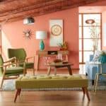 Mid-Century Modern Living Room 2