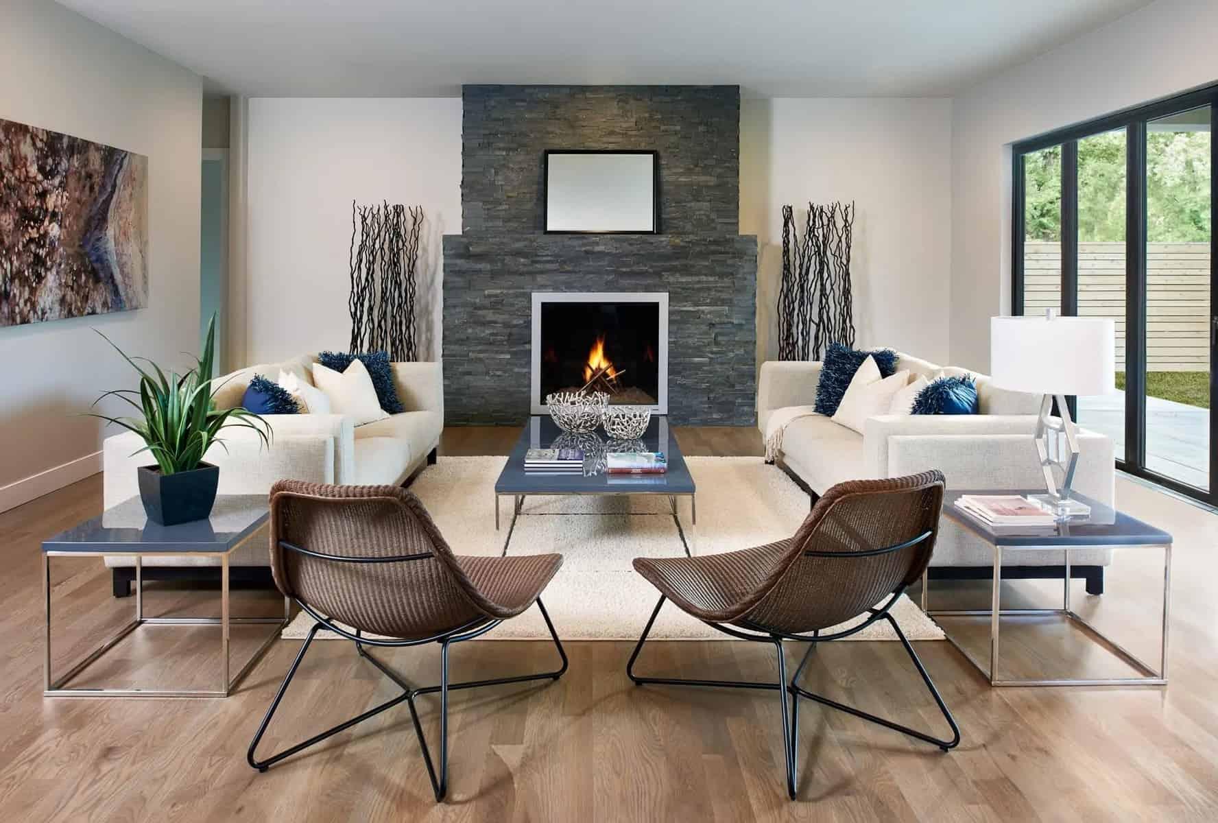 Mid-Century Modern Living Room 3
