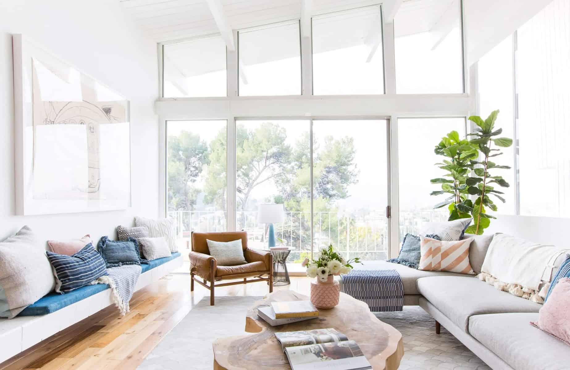 Mid-Century Modern Living Room 5