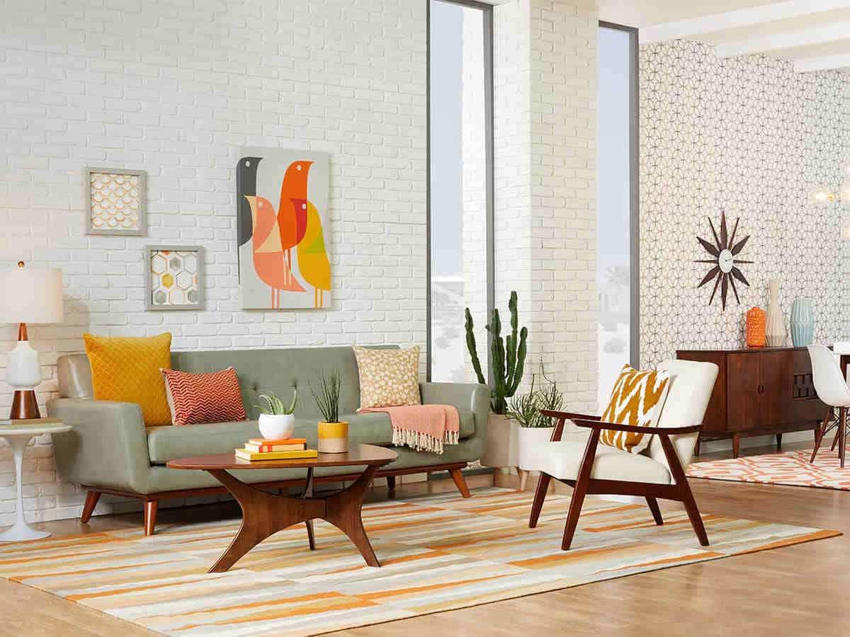 Mid-Century Modern Living Room 7