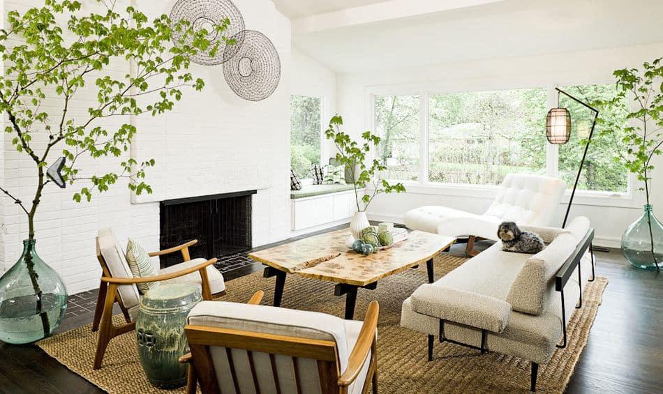 Mid-Century Modern Living Room 8