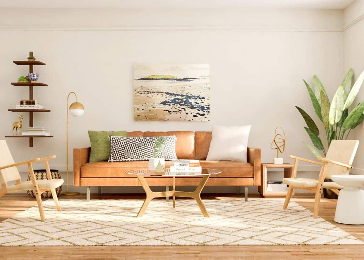 Mid-Century Modern Living Room 9