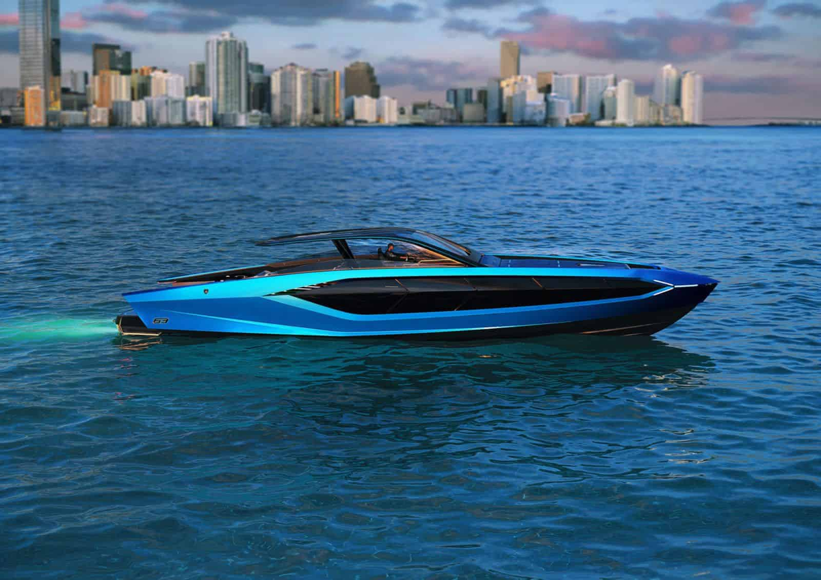 Lamborghini 63, the brand new Tecnomar hyper yacht will amaze you