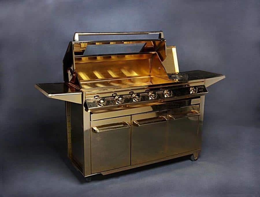 Beefeater Gold-Plated Barbeque Grill