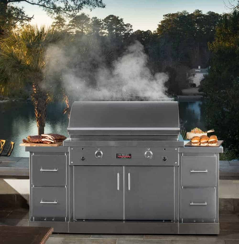 Tec Infra-Red Four-Burner Gas Grill Unit