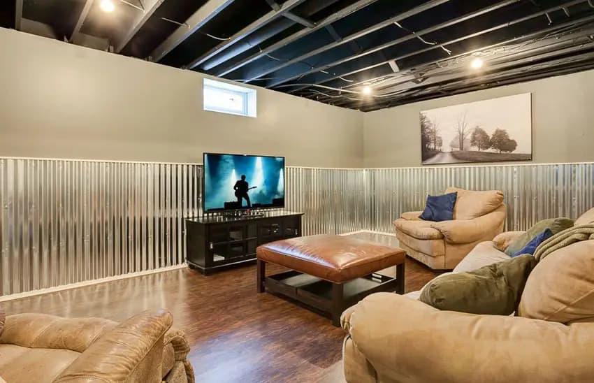 luxurious basement 5