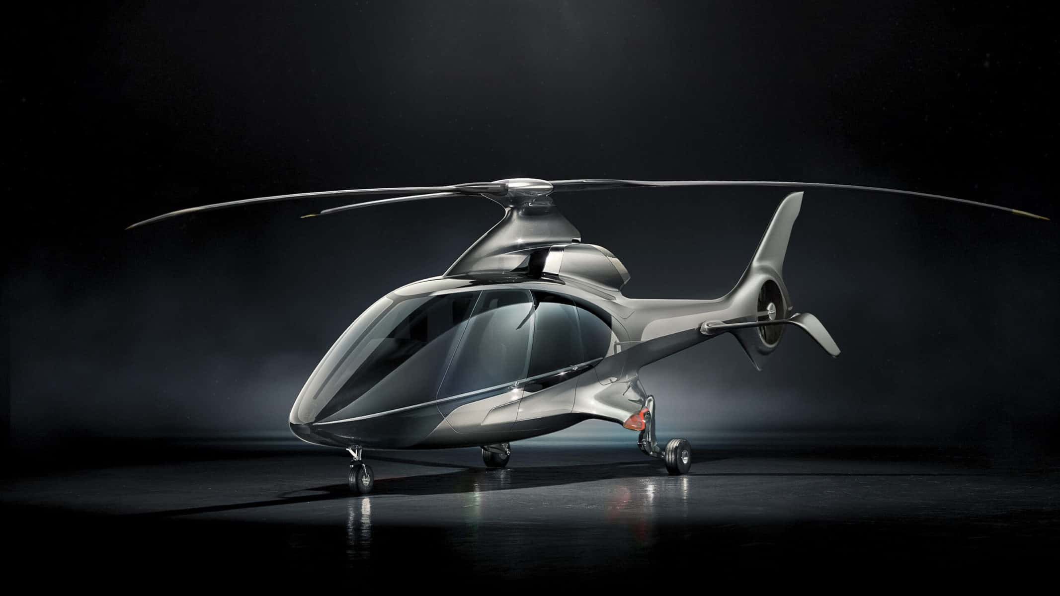 Hill Helicopters HX50 is the World's First Truly Private, Luxury Helicopter