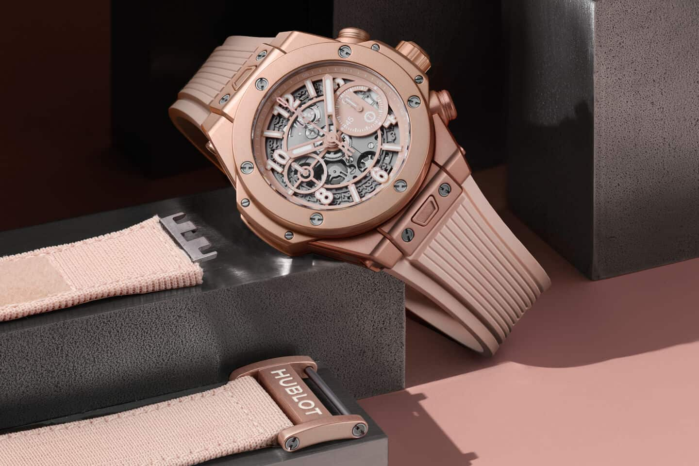 Hublot and Garage Italia present the new Big Bang Millennial Pink Gender-Neutral Watch