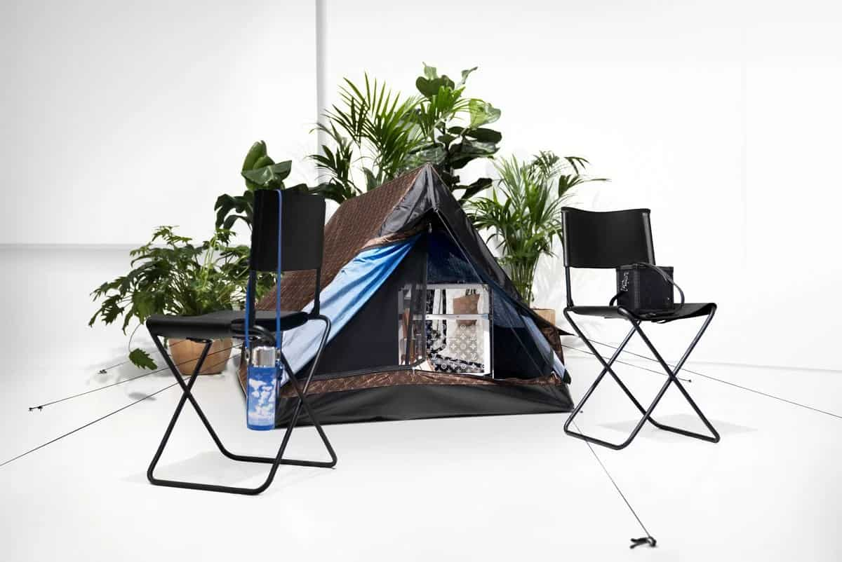 Louis Vuitton camping tent 1